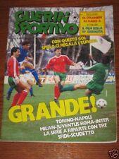GUERIN SPORTIVO=N°8 1987=MARK HUGHES=PORTOGALLO