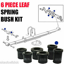 FITS TOYOTA HILUX 05-12 REAR LEAF SPRING SHACKLE HANGER ARM BUSH / BUSHES KIT