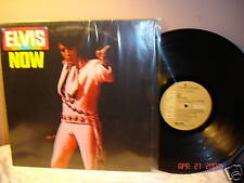 Elvis Presley Elvis Now LP Album LSP-4671 RCA 1975