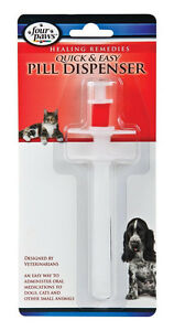 FOUR PAWS QUICK AND EASY PILL DISPENSER MEDS MEDICINE HEALTHY. IN USA