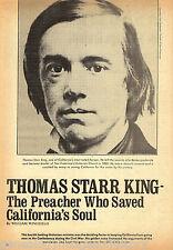 Thomas Star King-Preacher Who Saved California+Genealog