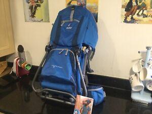 Deuter Kid Comfort 2 Baby Carrier Kid Carrier Backpack in Very Good Condition