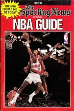 1991-92 SPORTING NEWS NBA BASKETBALL GUIDE  PIPPEN AND DREXLER ON THE COVER