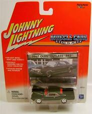 1967 '67 OLDS OLDSMOBILE CUTLASS 442 MUSCLE CARS JOHNNY LIGHTNING DIECAST RARE