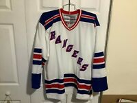 New York Rangers Factory Sealed NWT 1994 white Vintage CCM Size XL Jersey