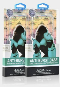 For iPhone 13/12 Pro (6.1) - King Kong Anti Burst Clear Case Shockproof Armour B