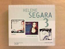 RARE COFFRET 3 CD / HELENE SEGARA / HUMAINE, AU NOM D'UNE FEMME, COEUR DE VERRE
