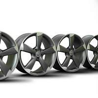 4x Audi 20 Zoll Alufelgen A6 S6 4G C7 Rotor Felgen 4G0601025BP NEU