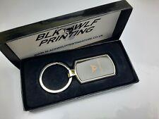 Seat Cupra CHROME METAL KEYRING + Free Gift Box (KR088)