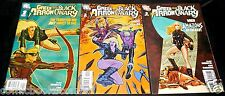 DC Comics 2007 GREEN ARROW & BLACK CANARY #1-3 Early Series Set Lot Run