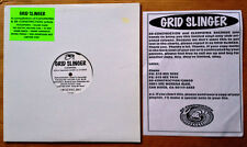 GRID SLINGER - CLEOPATRA LABEL - LIMITED VINYL ONLY LP + INSERT