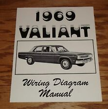 1969 Plymouth Valiant Wiring Diagram Manual 69