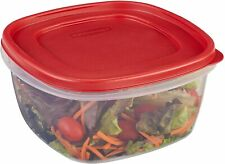 RUBBERMAID 14 CUP EASY FIND LID SQUARE FOOD STORAGE CONTAINER