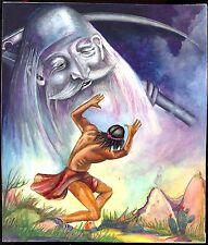 Dibujo original horror macabra Roman cuaderno título imagen indios espíritu ruth Jaeger