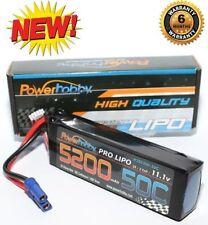 PowerHobby 3S 11.1V 5200mAh 50C Lipo Battery Pack w EC5 Plug 3-Cell