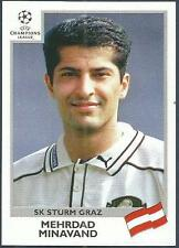 PANINI UEFA CHAMPIONS LEAGUE 1999-00- #113-STURM GRAZ-MEHRDAD MINAVAND