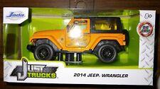 2014 Jeep Wrangler Halloween Orange Jada Just Trucks 2019 Chase Rare