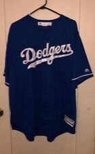 MAJESTIC  MLB  LOS ANGELES DODGER'S (cool base) JERSEY  SIZE 2XL