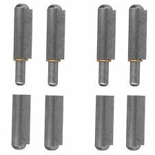 4 Pack Lift Off Bullet Hinge Weld On Brass Bush 16x120mm Heavy Duty Industrial