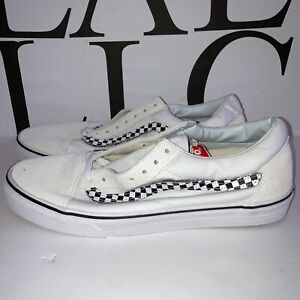 New Vans EVEL KNIEVEL Men's Size 13 Leather Skateboard Shoes 721278 Ultra Cush