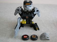 Raro Lego 3543 Hockey Slammer arquero con instrucciones