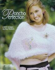 Poncho Perfection Knitting Booklet - Designs for Women - Leisure Arts