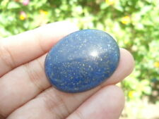 49.85 Cts Natural Gold Flakes Lapis Lazuli Oval Cut for Jewelry Setting Pendant