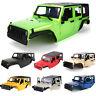 313mm Wheelbase Car Body Shell Kit for 1/10 TRX4 SCX10 90046 90047 Jeep Wrangler