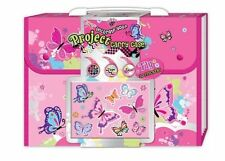 NEW Hot Focus Decorate Your Project Carry Case - Butterfly Theme