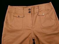 St. John Sport By Marie Gray Wide Leg Ankle Crop Pants Size 6 Women's