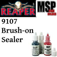 BRUSH ON SEALER 9107 - MSP core 15ml 1/2oz paint pot peinture REAPER MINIATURE