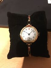 The Watch And The Bracelet 9ct Gold Watch Fully Hallmarked On