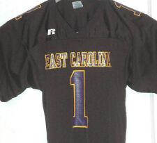 Vtg EAST CAROLINA UNIVERSITY PIRATES Football Jersey PRO CUT Rare Shirt AAC