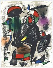 Joan Miro original lithograph 89884
