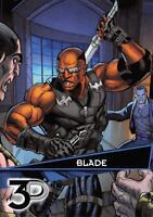 BLADE / Marvel 3D (Upper Deck 2015) BASE Trading Card #55