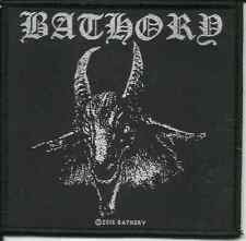 BATHORY goat 2015 - WOVEN SEW ON PATCH official merchandise