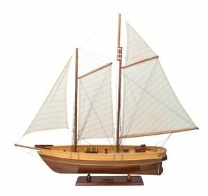 Authentic Models 1851 America's Cup Racing Yacht Sailing Boat 83cm