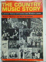Libro Book The Country Music Story - Robert Shelton & Burt Macilla
