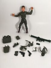 RARE Louis Marx Action Figure Army Man Soldier with Accessories Vintage Toy