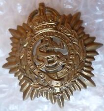 Badge- WW2 British Army Service Corps Cap Badge KC (BRASS, Genuine*)