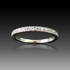 "Alliance ""De Beers"" Platine ""DB Classic"" avec 0.60 Cts Diamants. Taille 52"