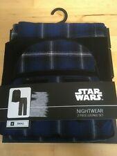 Mens 'Star Wars' Blue 2 Piece Lounge Suit / Pyjamas, UK Small, BNWT, RRP £31.99