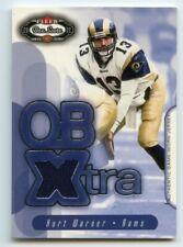 Kurt Warner 2002 Fleer Box Score QB Extra Jerseys Relic BY2199