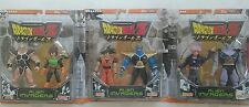 Dragon Ball Z Alien Invaders set-goku vegeta nappa burter trunks king-cold