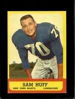 1963 TOPPS #59 SAM HUFF EX SP NY GIANTS HOF *SBA6824