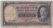 Straits Settlements P 16 b - 1 Dollar 1935 - Fine