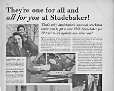 1938 Studebaker Automobile Vintage Print Ad Drive It And You'll Buy It