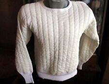LARGE True Vtg Towncraft Two Layer Suit Thermal Underwear Shirt Pants Quilted