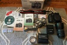 Canon EOS 7D and Many Accessories NOT MARK II