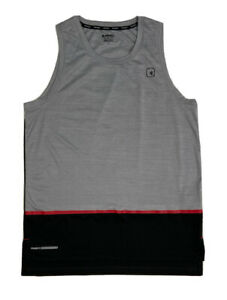 🔥🔥AND1 Men's Sleeveless 'Stop Sweating Me' Shirt Size Medium Gray🔥🔥
